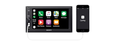"Imágenes de Receptor multimedia Apple CarPlay de 15,7 cm (6,2"") con BLUETOOTH®"