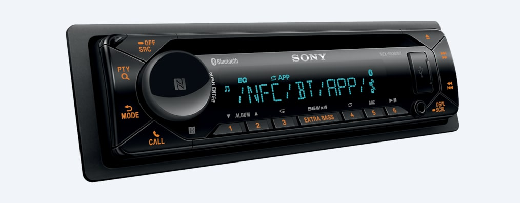 Imágenes de Radio para auto de CD con BLUETOOTH® y display multicolor