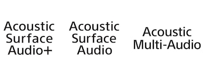 Logotipos de Acoustic Surface Audio