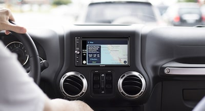 Apple CarPlay del XAV-AX200