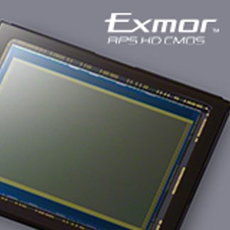 Sensor CMOS Exmor™ APS HD de 24,3 MP